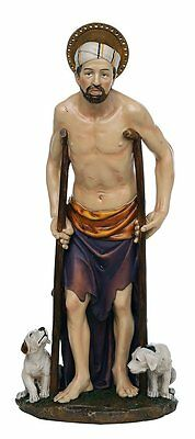 St. Lazarus of Bethany Catholic Religous Figurine Sculpture 12 Inch