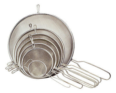 Chef Aid Metal Tea/Food Strainer Sieve Various Sizes Available