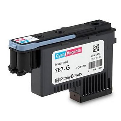 Pitney Bowes Franking Machine Printhead for the Connect+ - CYAN/MAGENTA - 787-G