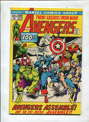 Avengers #100 (8.5) Everyone Who Was Ever An Avenger On Cover! Key!