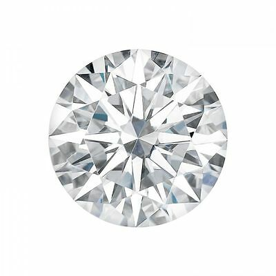 0.80CT Hearts and Arrow Forever One Moissanite D-E-F Loose Round Stone 6MM