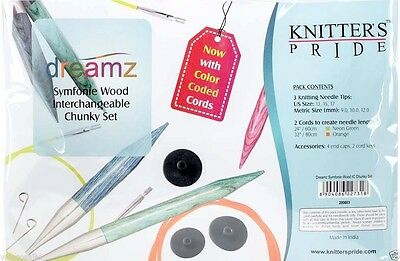 Knitter's Pride Dreamz Chunky Interchangeable Knitting Needles Set #200603 Sale