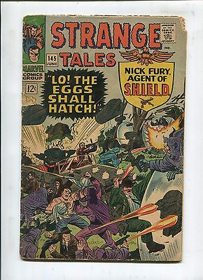 Strange Tales #145 - Lo! The Eggs Shall Hatch! - (3.5) 1966