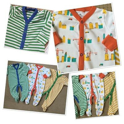 Next Baby Boys Cute Colourful Sleep suits 3-6 Months
