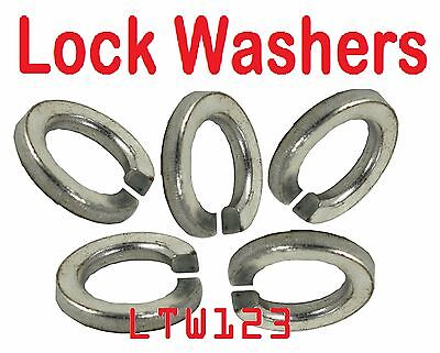 Prime-Line 9119450 Medium Split Lock Washers Metric M5 Zinc Plated Steel 25-Pack