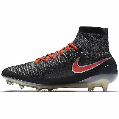d637e0e5c17 NEW NIKE 718754 061 NWT Magista Obra FG Soccer Cleats Black Red Women US 9