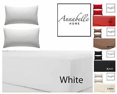 Valance Sheet, Deep Fitted Valance Bed Sheets, Non Iron Pure Cotton Percale