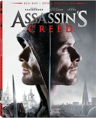 Assassin's Creed [New Blu-ray] With DVD, Widescreen, 2 Pack, Ac-3/Dolby Digita