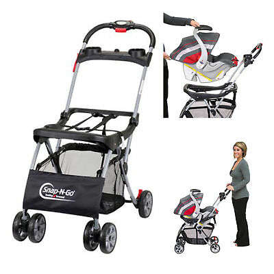 Baby Trend Snap-N-Go EX Universal Infant Car Seat Stroller Infant Travel System