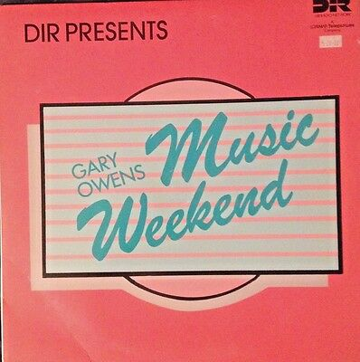 Radio Show:GARY OWENS MUSIC WEEKEND 1/30/88 CROWDED HOUSE LIVE, BILLY OCEAN