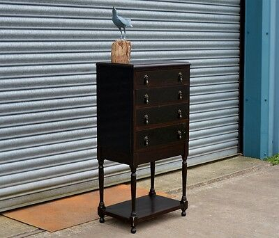 Vintage Sheet Music Chest of Drawers.