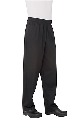 NEW FREE SHIPPING ! Chef Works Men's Essential Baggy Chef Pant (NBBP)
