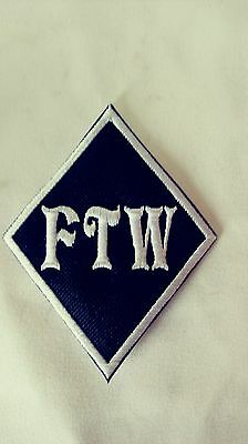 FTW Diamond Patch HARLEY DAVIDSON Outlaw biker 1%er