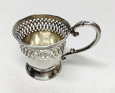 Antique G. H. FRENCH Espresso / Demitasse Sterling Silver Cup Holder