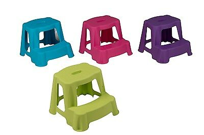 Large Bathroom Step Stool 35Cm Kids Potty Children Toilet Double Kitchen Stools