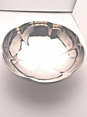 """Tiffany & Co Sterling Silver beautiful Hand Wrought Bowl 7.5"""""""