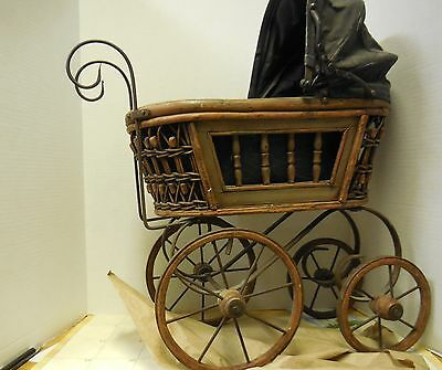 Vintage Doll Carriage Stroller