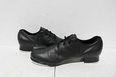 "NF-168 Bloch ""TapFlex"" Adult Lace Up Tap Shoe BLACK SZ 6.5"