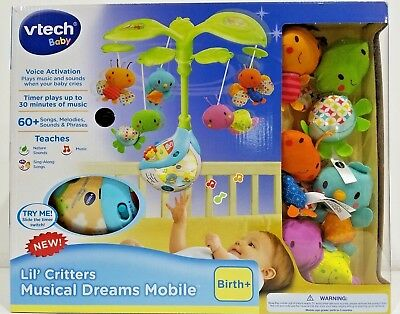 New  Vtech  Lil Critters  Musical Dreams Mobile Birth+ Orignial