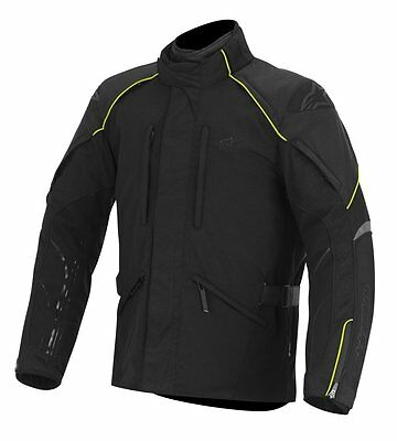 Alpinestars New Land Gore-Tex Men's Jacket (Black/Fluorescent Yellow, Large)