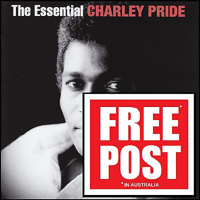 CHARLEY PRIDE (2 CD) THE ESSENTIAL ~ GREATEST HITS BEST OF ~ 70's CHARLIE *NEW*