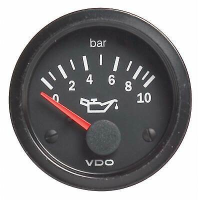 VDO Vision Car Oil Pressure Gauge - Electrical - 0-5 Bar - 52mm Diameter