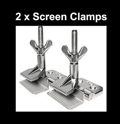 Screen Printing Frame Clamps Pkt Of 2 Screen Camps