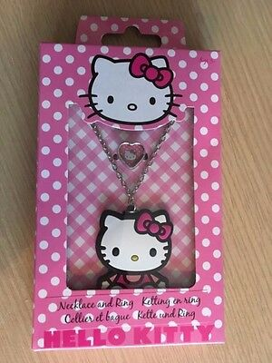 BNIP New Hello Kitty Necklace and Ring