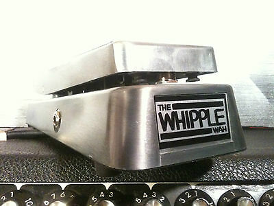 Whipple Wah Pedal a handmade Classic World's finest Wah Pedal