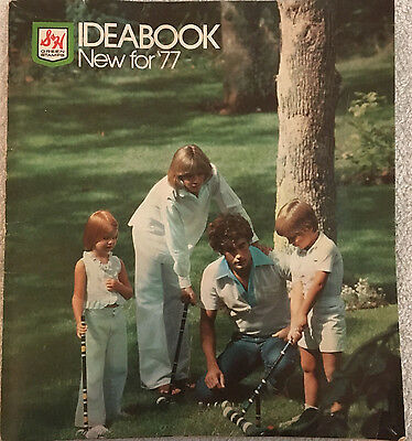 Vintage S&H Green Stamps Ideabook New for 1977 Catalog