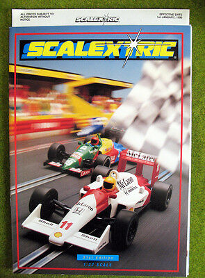 SCALEXTRIC 1990 ~ 31st Edition Catalogue ~ NEW
