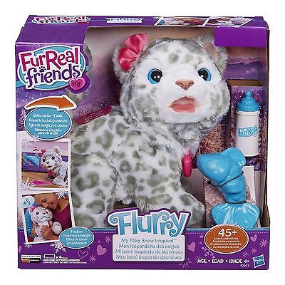 New FURREAL FRIENDS FLURRY MY BABY SNOW LEOPARD - INTERACTIVE PET EXCLUSIVE
