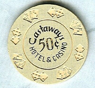 CASTAWAYS CASINO (LAS VEGAS) 50 CENT CHIP (N1451) (SU).xls