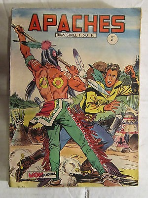 Apaches   N° 41    Be