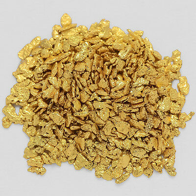 0.9442 Gram Alaska Natural Gold Nuggets / Flakes -(#08415)- Hand-Picked Quality