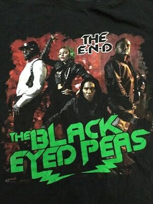 The Black Eyed Peas The End Tour 2010 Adult Xl T-shirt