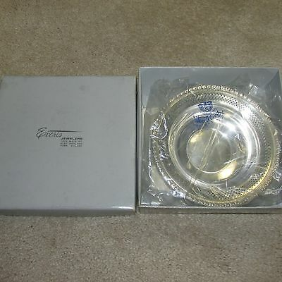 "VINTAGE STERLING SILVER BOWL/DISH BY FISHER #101 (75.8 grams, 6"" round) - In Box"