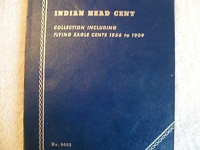 Indian head cents collection book 1856-1909