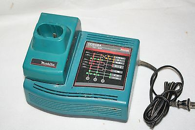 Makita DC24SA Quick Charger with ADP01 Stick Battery adapter, VG!