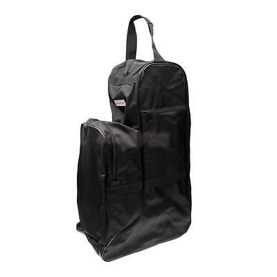 Horse Riding Boots Bag Horsewhip Breeches Gloves Helmet Storage Carrier - L