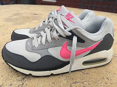 Nike Air Max 1 Gray & Pink Running Shoes Sneakers 7.5