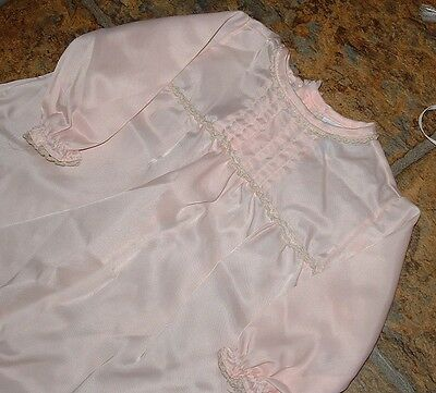 Antique Baby Christening Baptismal Gown and matching BLANKET Lace Trim VINTAGE