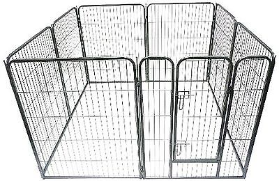 Ellie-Bo Heavy Duty Modular Puppy Exercise Play/ Whelping Pen 158 x 158 x 100...