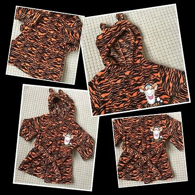 Disney Tigger Baby Boys Cure Dressing Gown 18-24 Months