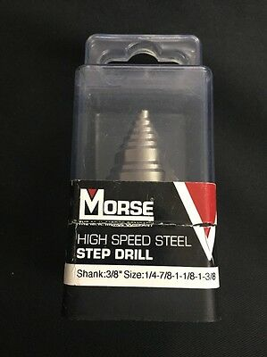 Morse ESD11 High Speed Steel Step Bit