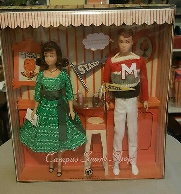 Barbie CharacterMidge and Allan Campus Sweetheart Shop reproduction giftset NRFB
