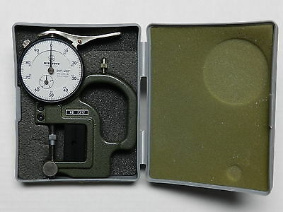 No.7312 MITUTOYO DIAL THICKNESS GAGE REVERSE ANVIL, MACHINIST TOOLS