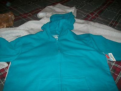 Lot Of 3 New! Hanes Softsweats Small Hooded Hoodies Sweatshirts