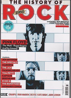 The History Of Rock 1980 Uncut 2016 Magazine  Pink Floyd New