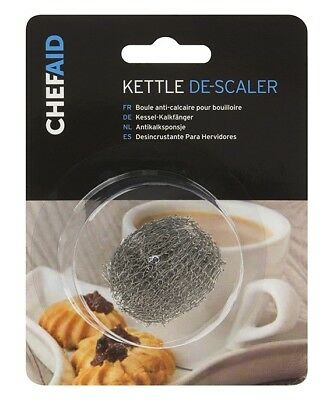 Chef Aid Kettle Descaler - Stainless Steel - Furring Remover Scale Mesh
